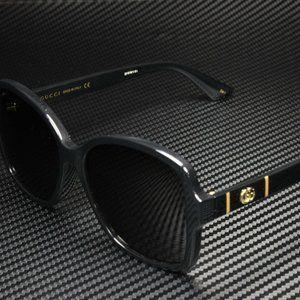 Gucci Black 57mm Sunglasses